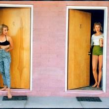 USA. Las Vegas, Nevada. 1957. Showgirls.
