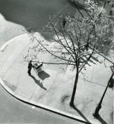 Man Pushing Pram, Paris 1945-52