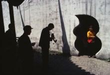 CHINA. Shanghai. YuYuan Gardens. 1980.