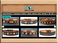 Cowboy Cool Canine Collars - WordPress Websites and Training - Sara Ohara