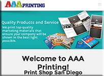 AAA Printing - WordPress Websites and Training - Sara Ohara