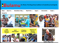 Bulamu Healthcare - WordPress Websites and Training - Sara Ohara