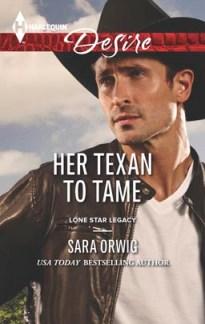 Her Texan To Tame Sara Orwig