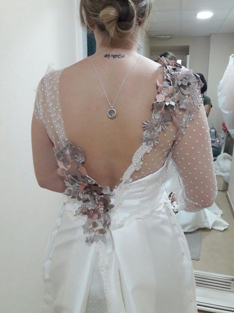 El vestido de novia de Desirée | Diseñadora Sara Ostos