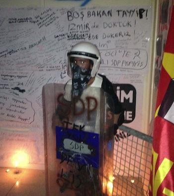 Revolution Museum Riot Police
