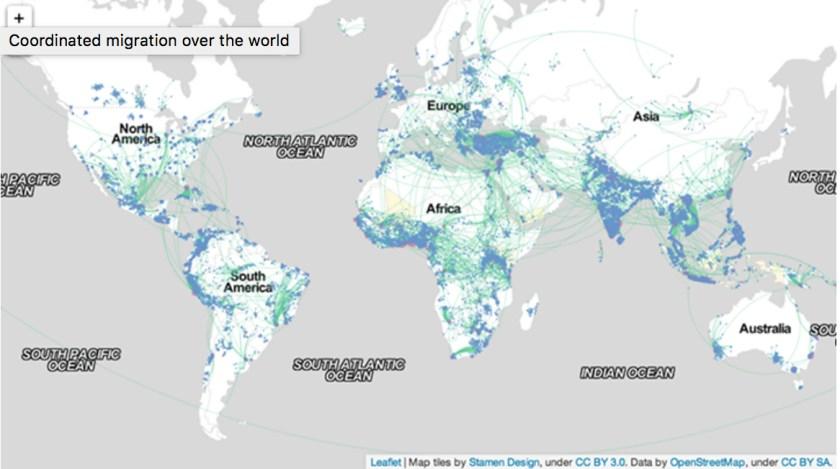 Facebook Migration Study