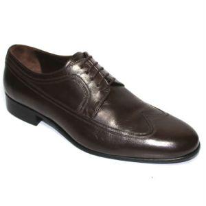 Кафяви мъжки обувки-402740