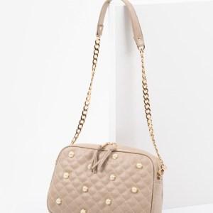 Дамска чанта в бежов цвят-725029-1