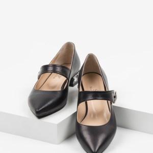 Ежедневни дамски обувки в черен цвят-241052