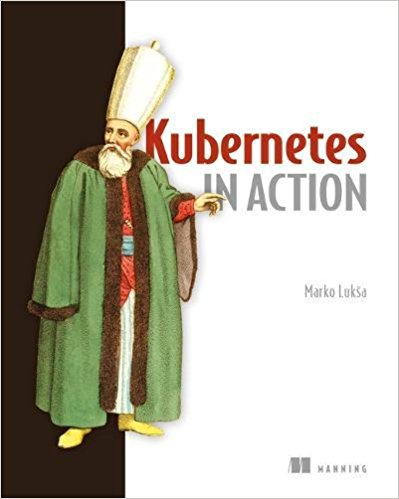 cover image of Kubernetes book