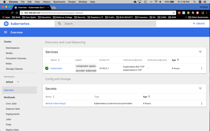 Kubernetes Screenshot