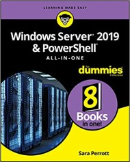 Cover picture of Windows Server 2019 book