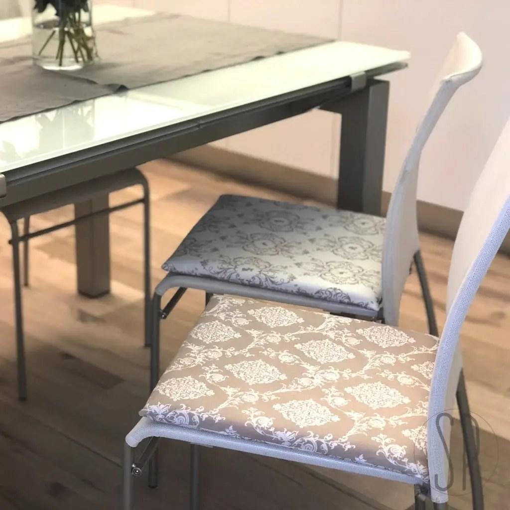 Io li ho scelti per le sedie della mia cucina in muratura. Come Cucire Il Cuscino Coprisedia Per La Cucina Sara Poiese Sewcialist