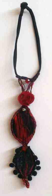 126 Yvonne Moore-Double pendant
