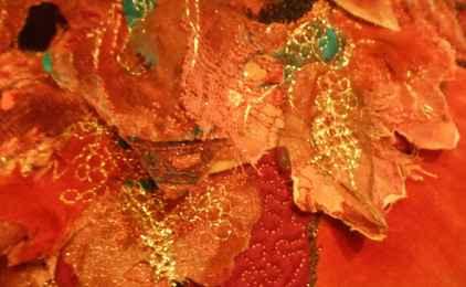 21 Marilyn Farrow_Autumn Mask_closeup