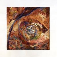 sara quail layered textile
