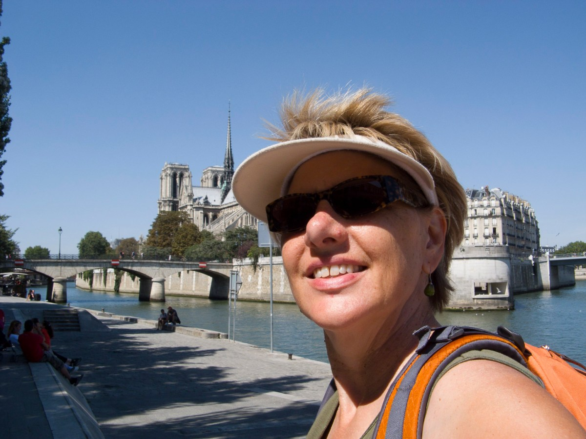 Biking along the Seine - fabulous!