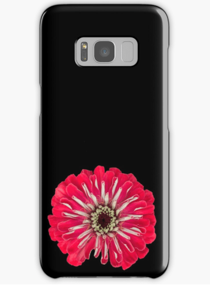 Red Zinnia Samsung Galaxy phone case