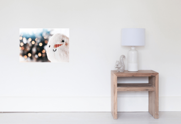Christmas Gifts - Snowball Poster