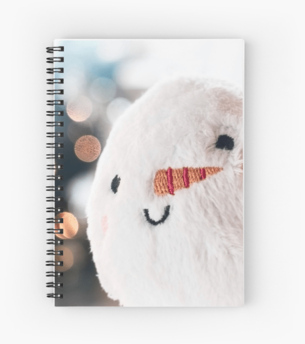 Christmas Snowball notebook