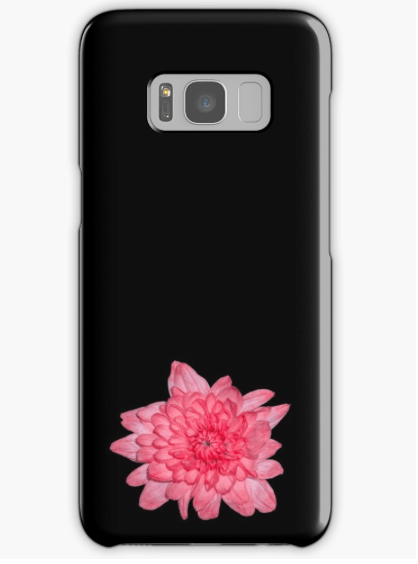 pink carnation Samsung Galaxy Case