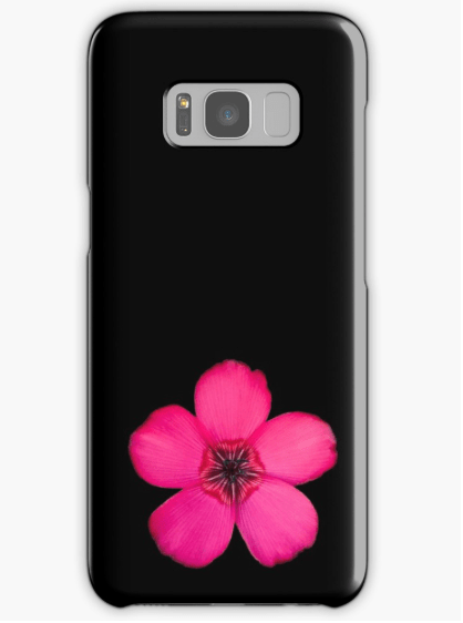Red Flax Samsung Galaxy phone case