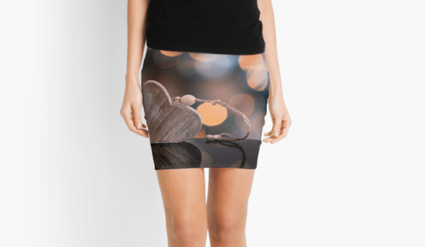 Love Heart pencil skirts