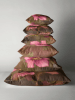 Christmas Rose Cushion stack