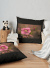 Christmas Rose Floor Cushions