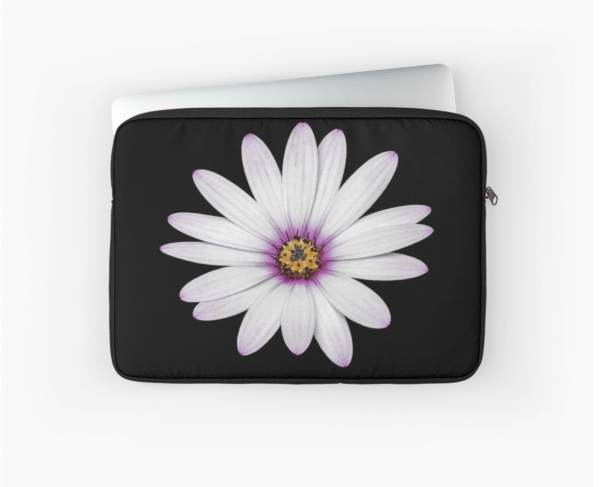 African Daisy Laptop Sleeve