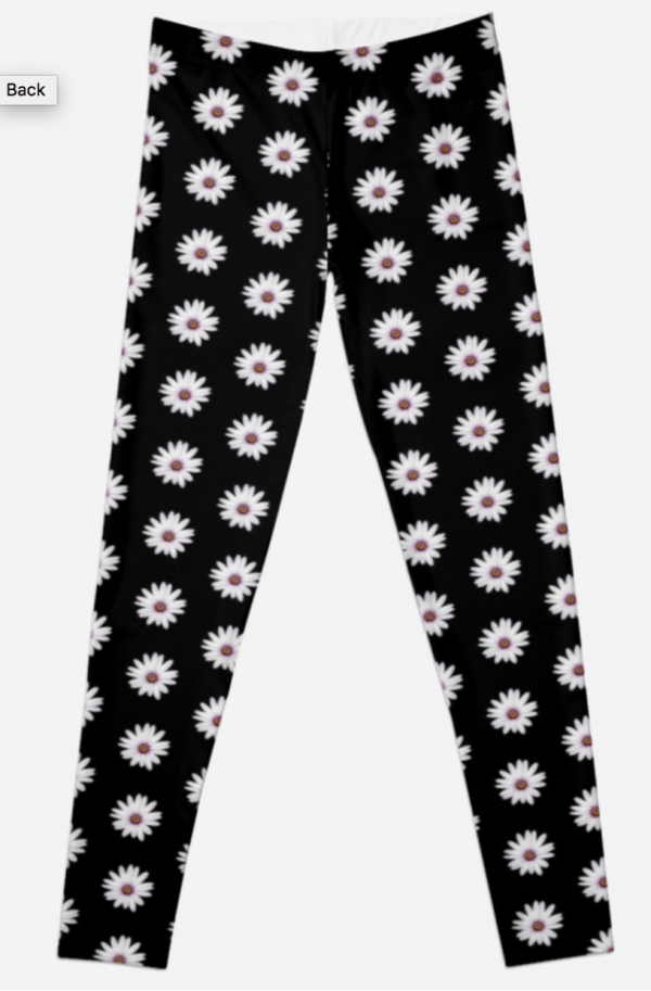 African Daisy Leggings