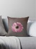 Pink Gerbera medium cushion