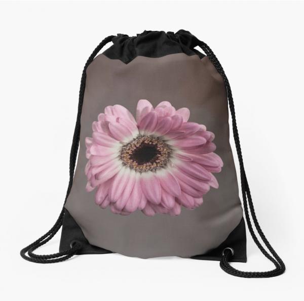 gerbera drawstring bag