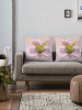 Hellebores flower Cushions - large