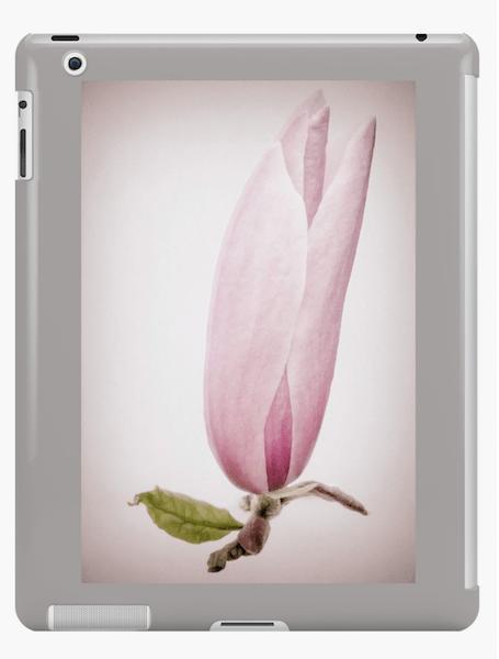 Magnolia flower iPad cases