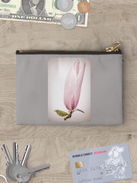 Magnolia Flower Studio Pouch