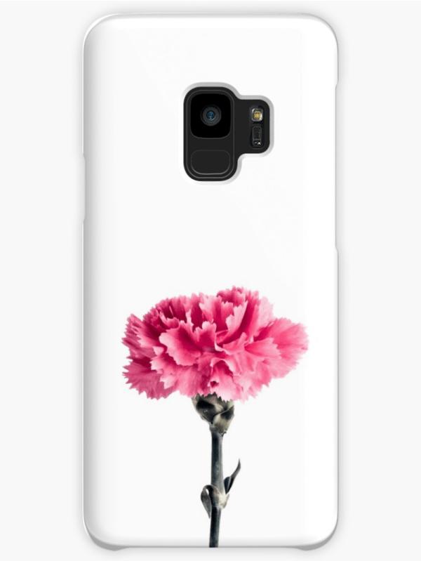 Carnation flower Samsung Galaxy Phone case