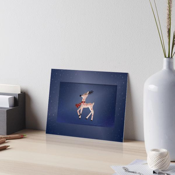 Christmas Reindeer Artboard