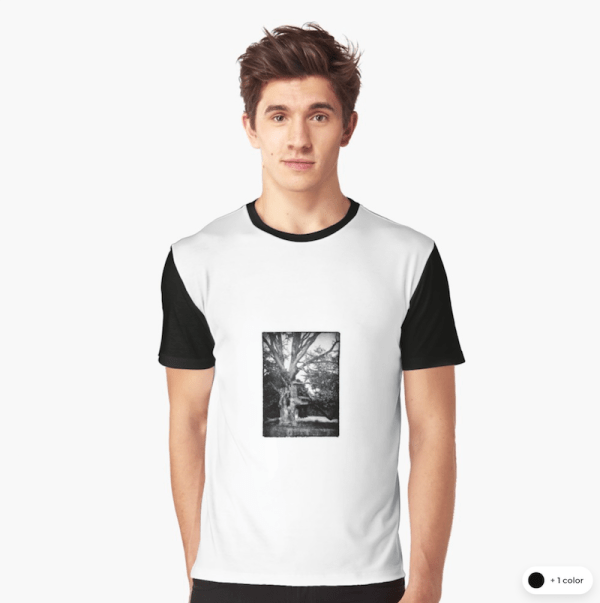 Spooky Tree graphic t-shirts