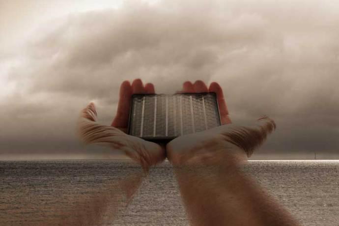 representing solar power