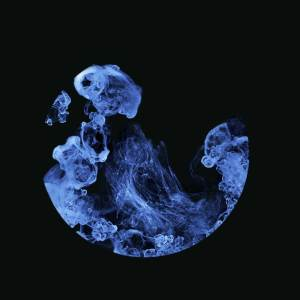 Creating smoke from milk - an abstract photograph