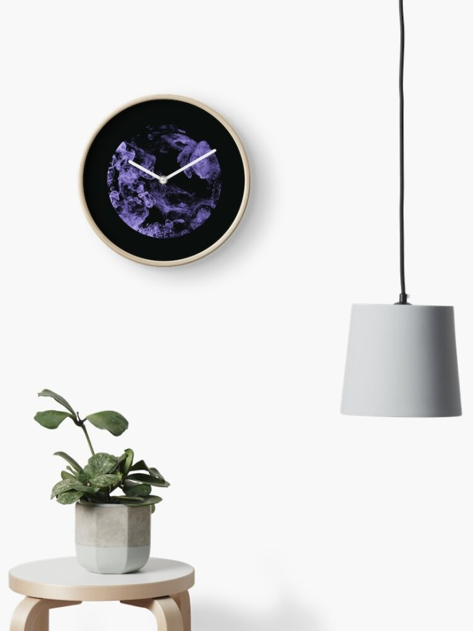 smoky images wall clock