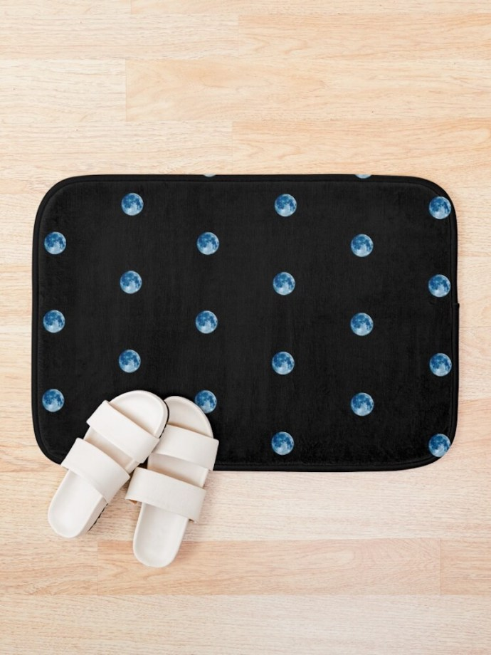 magical moon products bath mat
