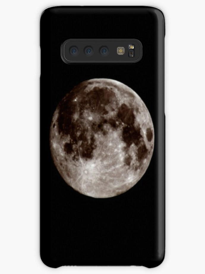 moon galaxy phone case
