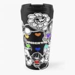 undertale travel mug, one of many Redbubble products
