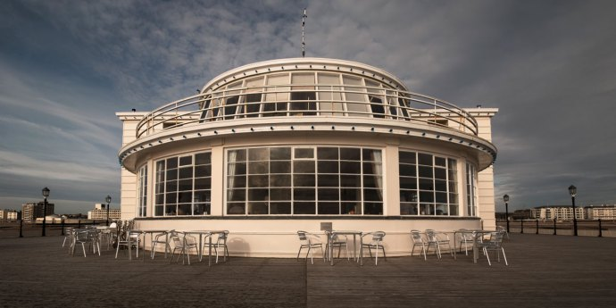 Southern Pavilion at Worthing Pier