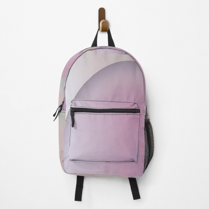 art on a backpack
