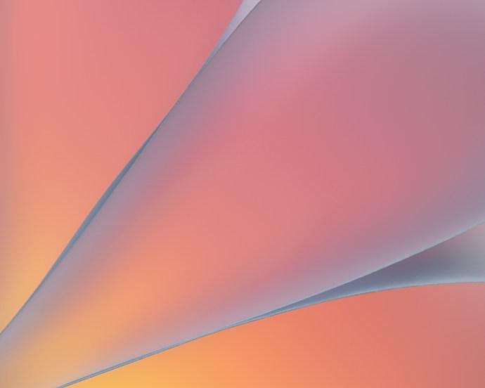 orange abstract art