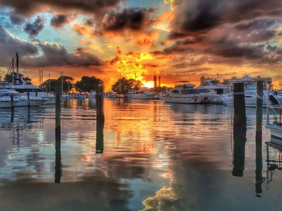 Sarasota Bay Front sunset bike tour