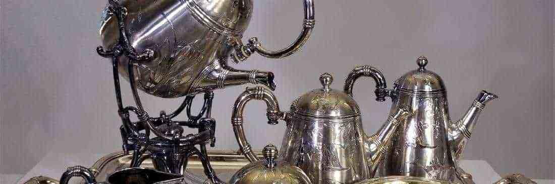 French Christofle Silver Tea Set